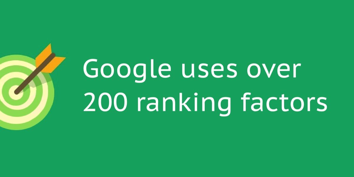 Google uses over 200 ranking factors, local SEO in Spain